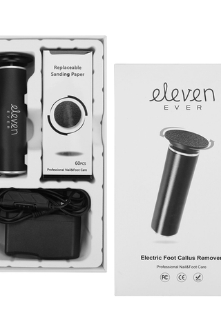ELEVEN EVER ELECTRIC CALLUS REMOVER FOOT FILE SET