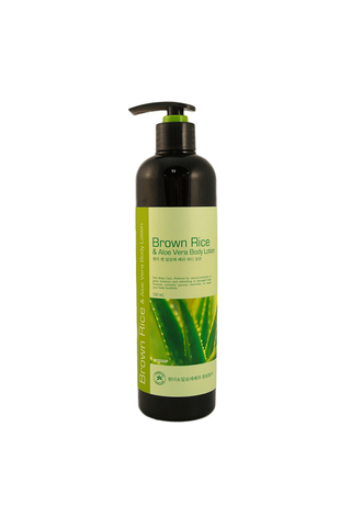 HYSSOP ORGANIC BROWN RICE & ALOE VERA BODY LOTION 520 ML