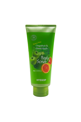 HYSSOP GRAPEFRUIT & GREEN APPLE BODY SCRUB 300 ML