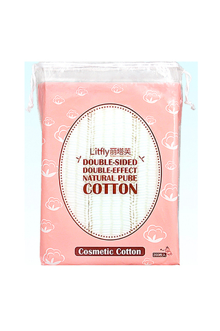 LITFLY MAKEUP REMOVER COTTON (P/B)