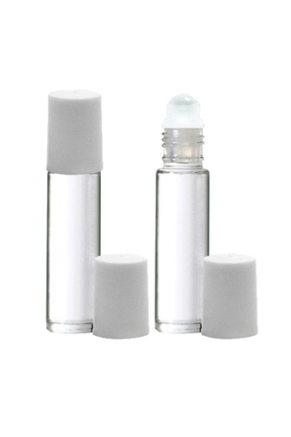 ROLL - ON GLASS PERFUME ATOMIZER 3 PCS