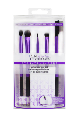 REAL TECHNIQUES ENHANCED EYE BRUSH SET