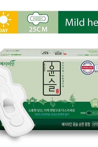 YEJIMIN Mild Herb Sanitary Pad M Size