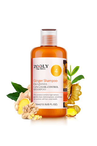 Zooly Ginger Shampoo 4 ( Oil Control)