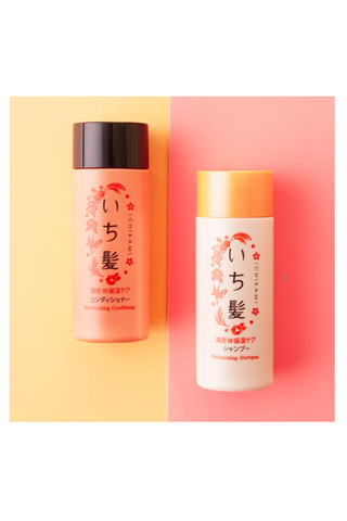 ICHIKAMI MOISTURIZING SHAMPOO & CONDITIONER TRAVEL SIZE