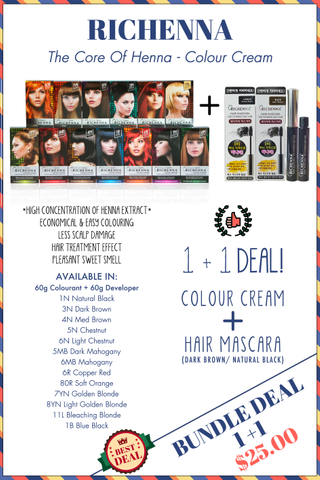 RICHENNA COLOUR CREAM BUNDLE DEAL