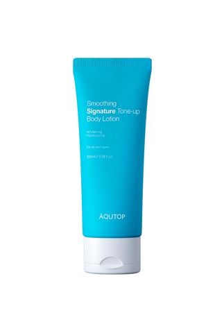 Aqutop Smoothing Signature Tone-up Body Lotion