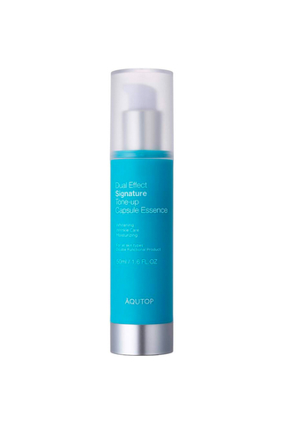 Aqutop Dual Effect Signature Tone-up Capsule Essence