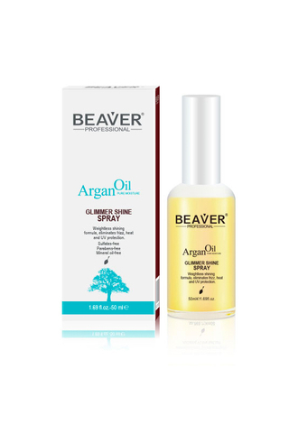 BEAVER ARGAN OIL MOISTURE REPAIR GLIMMER SPRAY