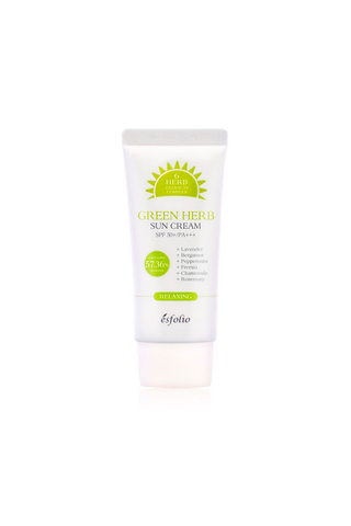 Esfolio Green Herb Sun Cream SPF 50PA+++