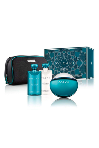 Aqva Pour Homme by Bvlgari For Men EDT Gift Set