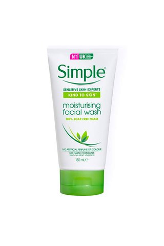 SIMPLE MOISTURISING FACIAL WASH