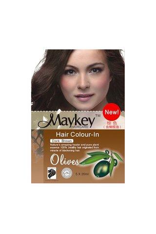 MayKey Hair Colour Dark Brown