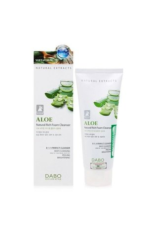 Dabo Cucumber Natural Rich Foam Cleanser