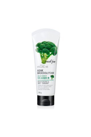 AROUND ME ASAK BROCCOLI CLEANSING FOAM