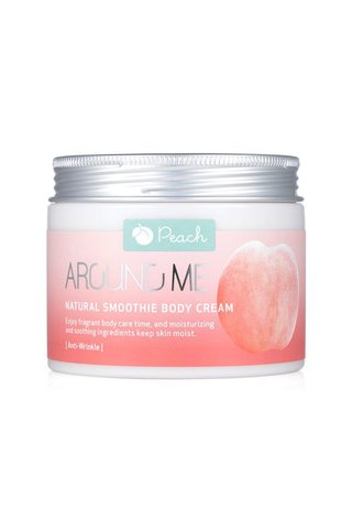 AROUND ME NATURAL SMOOTHIE PEACH BODY CREAM