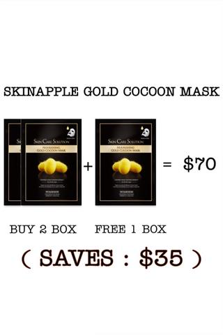 SKINAPPLE GOLD COCOON MASK